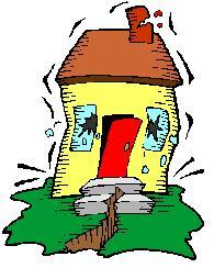Earthquake clipart earthquake house. Clip art panda free