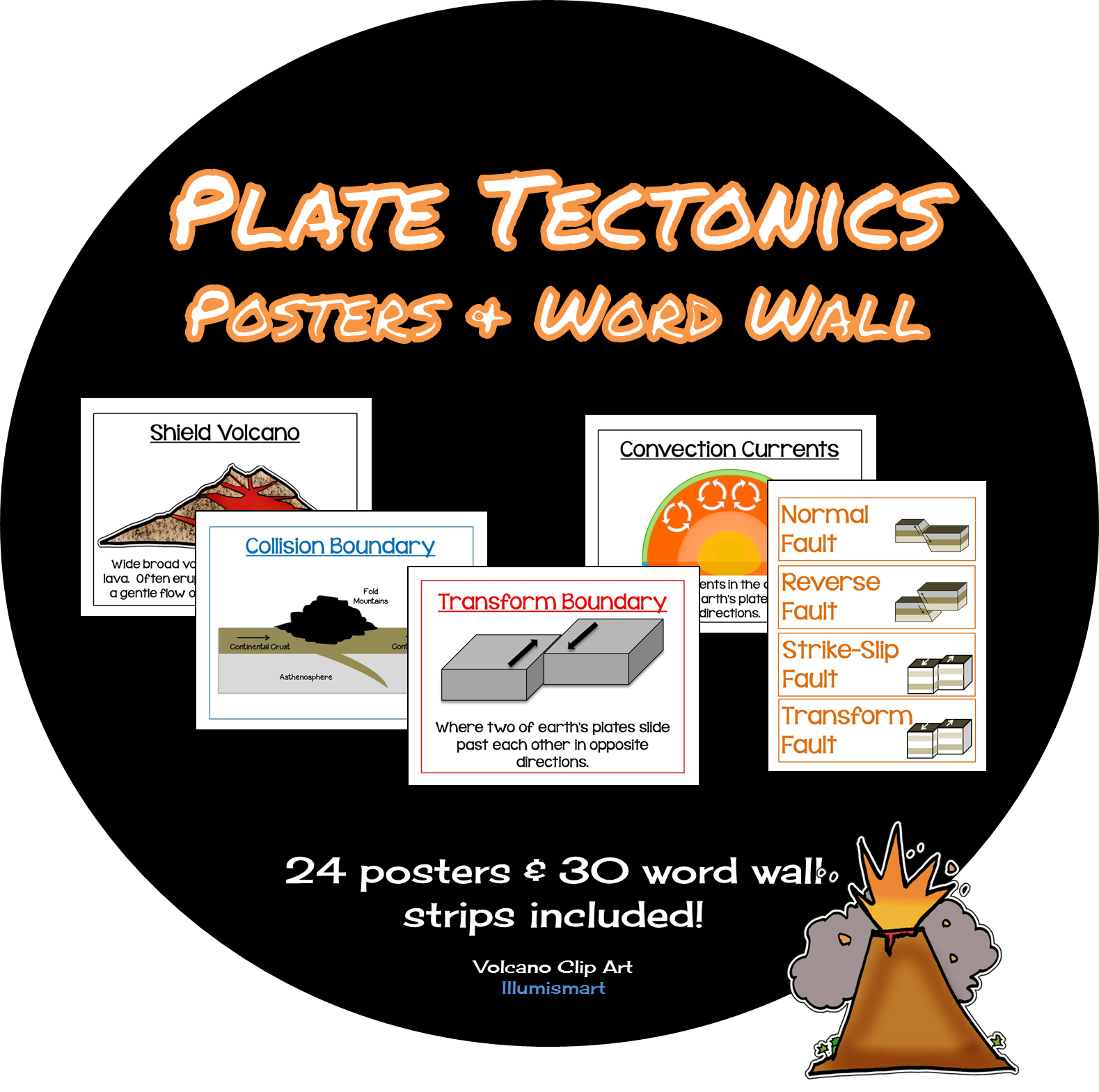Words clipart earthquake. Plate tectonics volcanoes boundaries