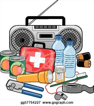 Earthquake clipart emergency bag. Kit cliparts free download
