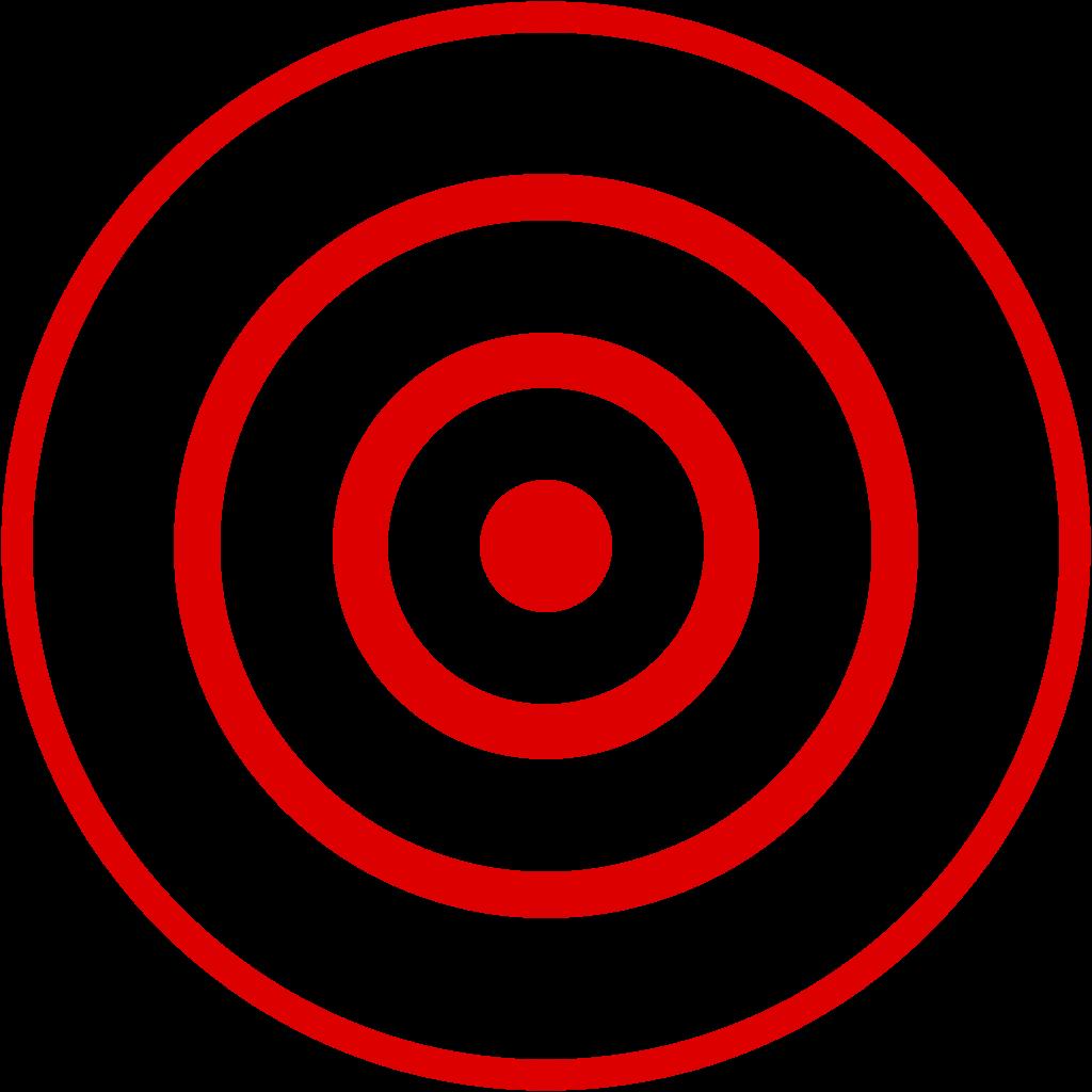 File bullseye svg wikimedia. Earthquake clipart epicenter