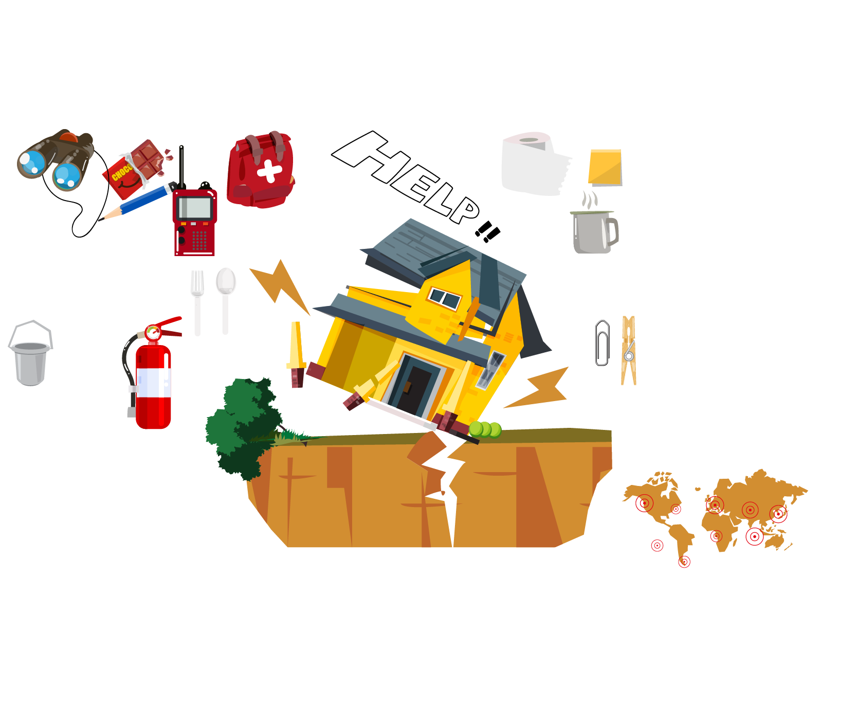 Free on dumielauxepices net. Earthquake clipart issue global