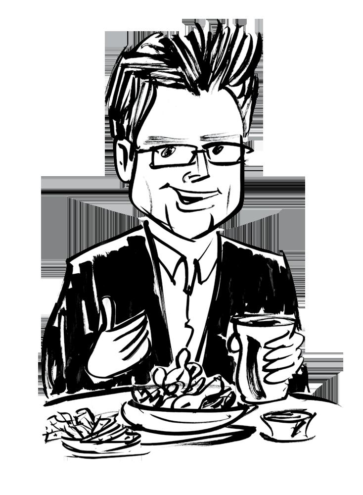 Twitter co founder biz. Luncheon clipart fancy