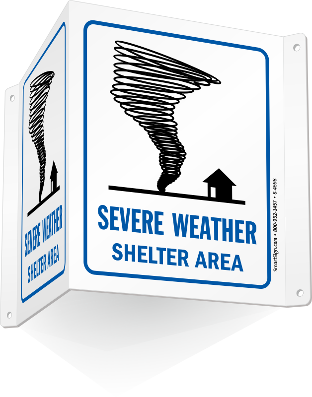 Emergency clipart shelter in place. Severe weather signs zoom