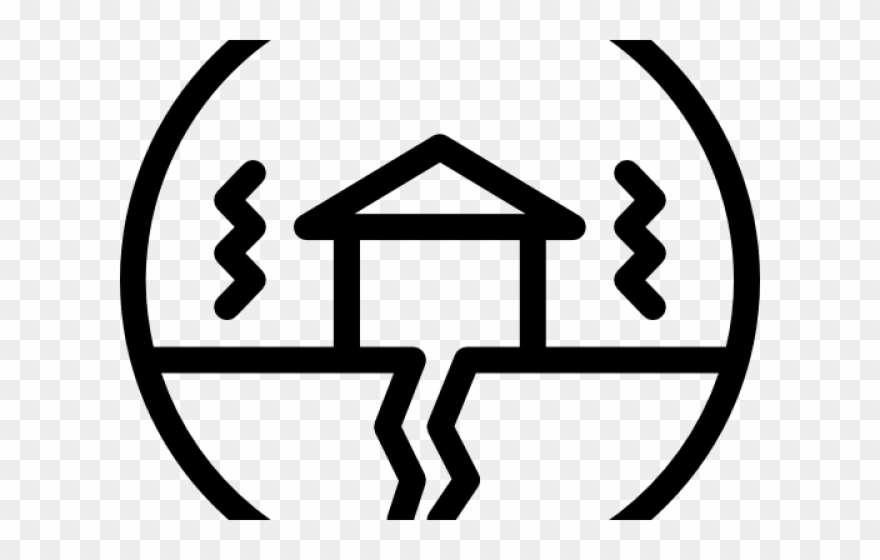 Earthquake clipart transparent. Icon disaster png white