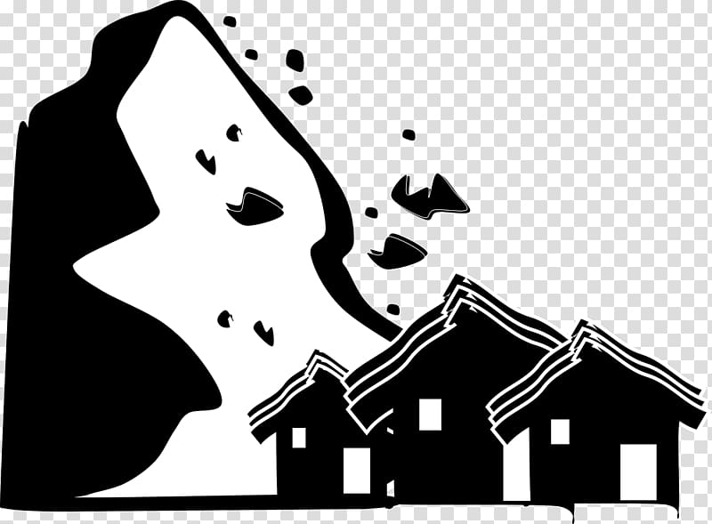 Natural disaster . Earthquake clipart transparent