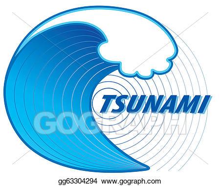 Eps vector epicenter stock. Earthquake clipart tsunami