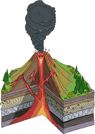 Earthquakes classroom image . Earthquake clipart volcano