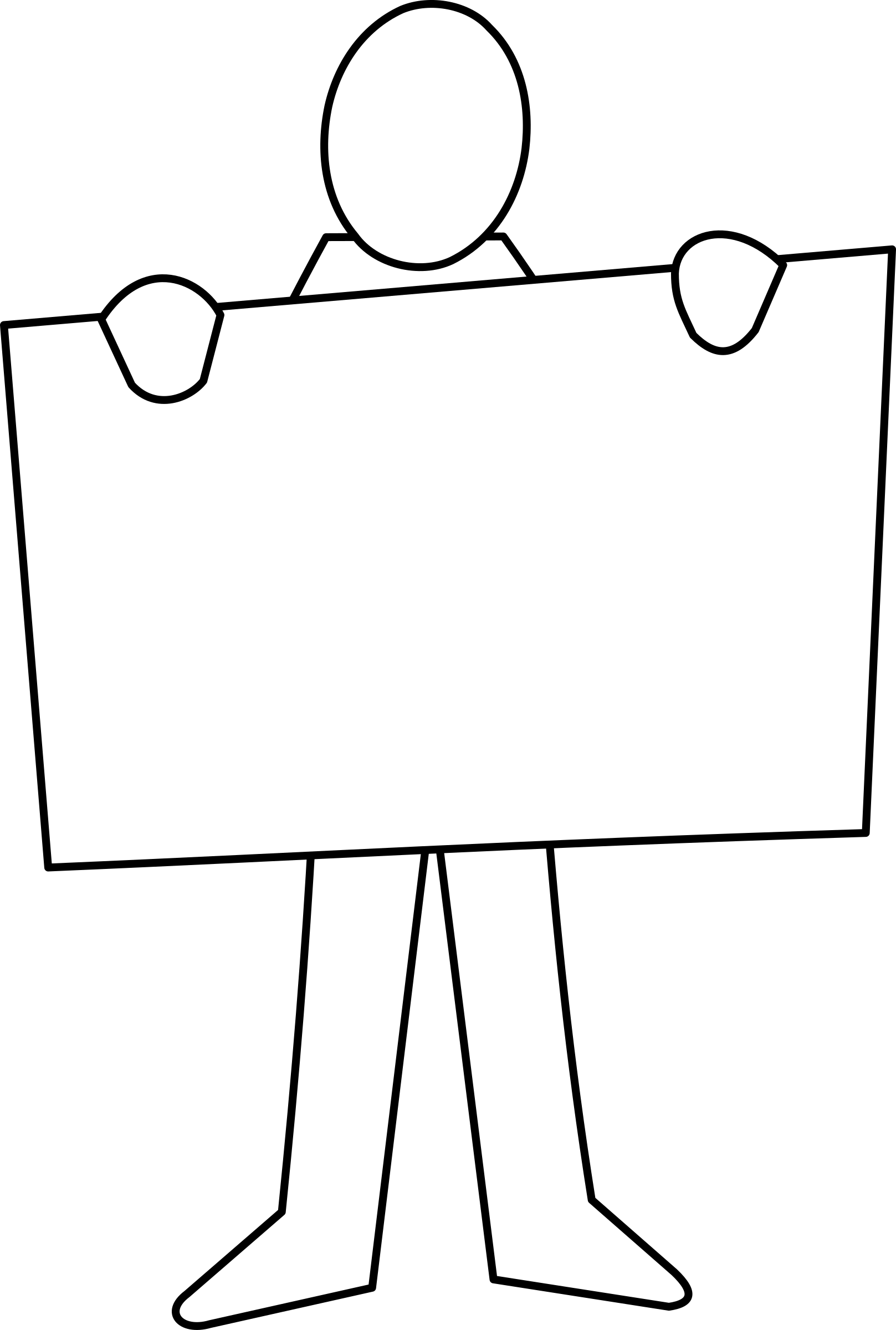 Grammar clipart holding board.  collection of blank