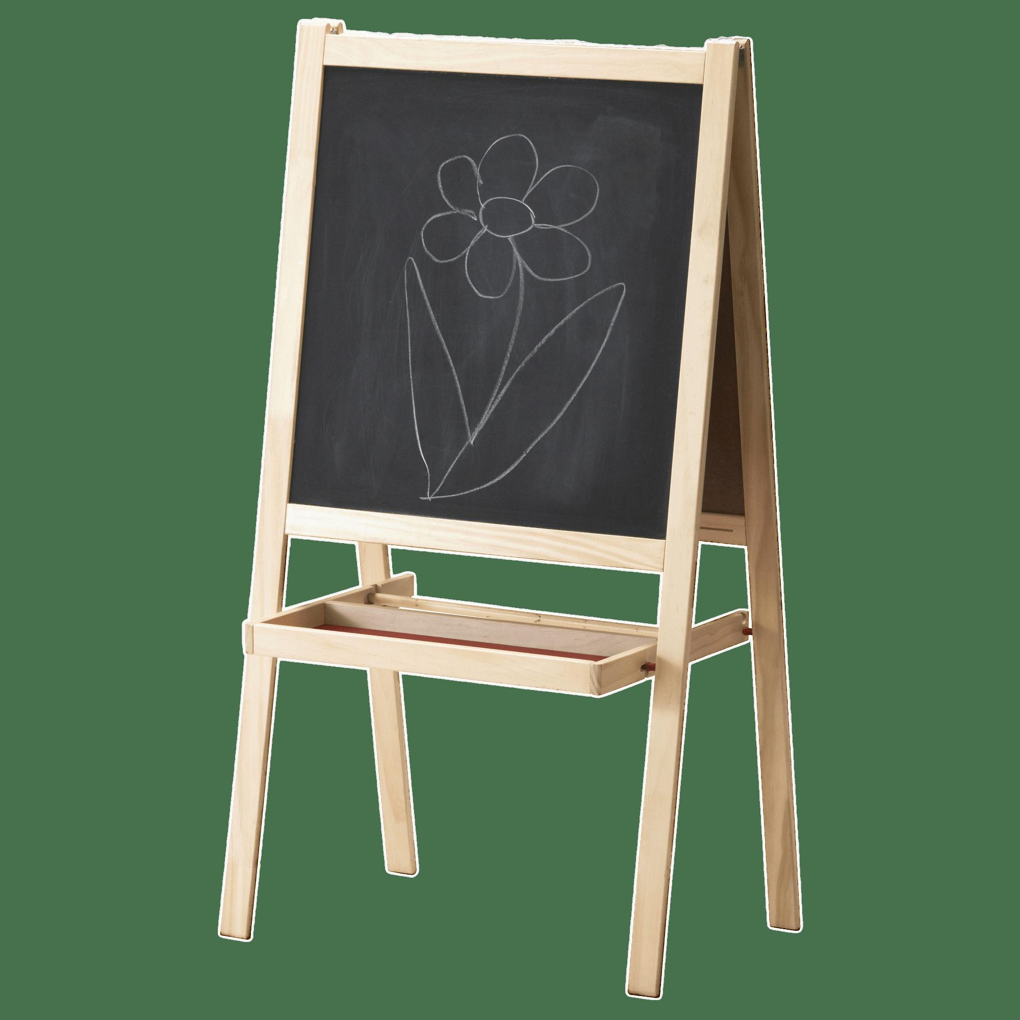 Ikea blackboard for children. Easel clipart chalkboard easel
