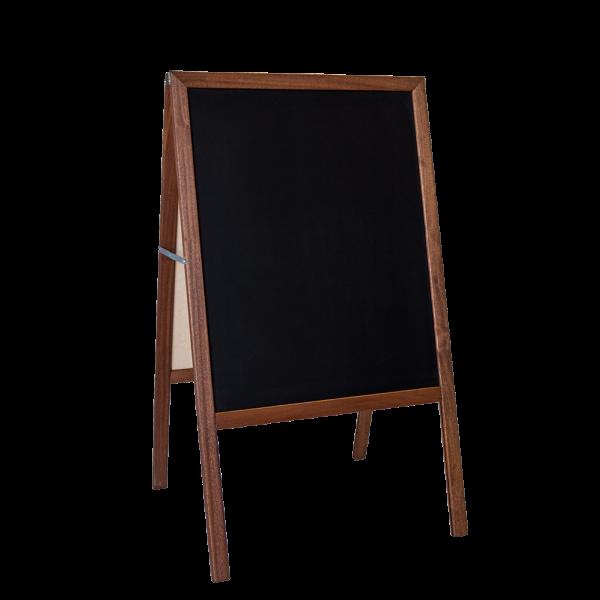 Chalk board stained black. Easel clipart chalkboard easel