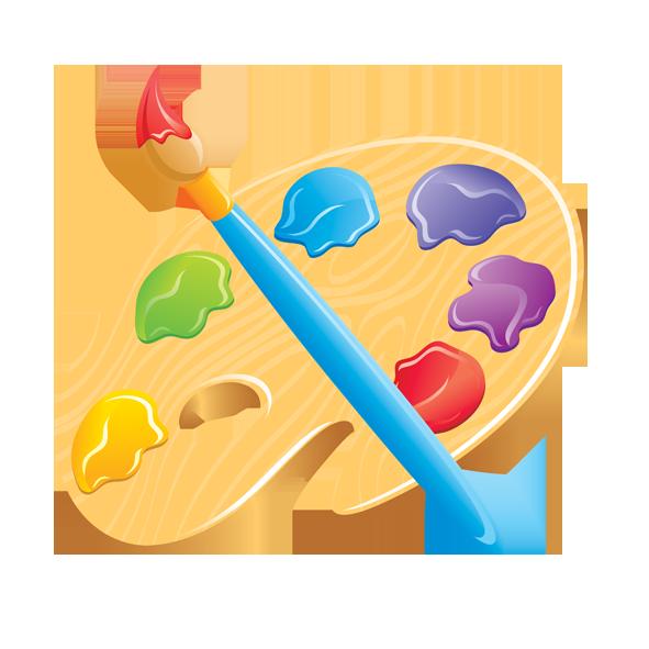 Paintbrush pallet