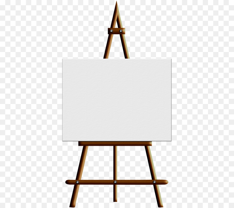Easel clipart short. Download free png painting