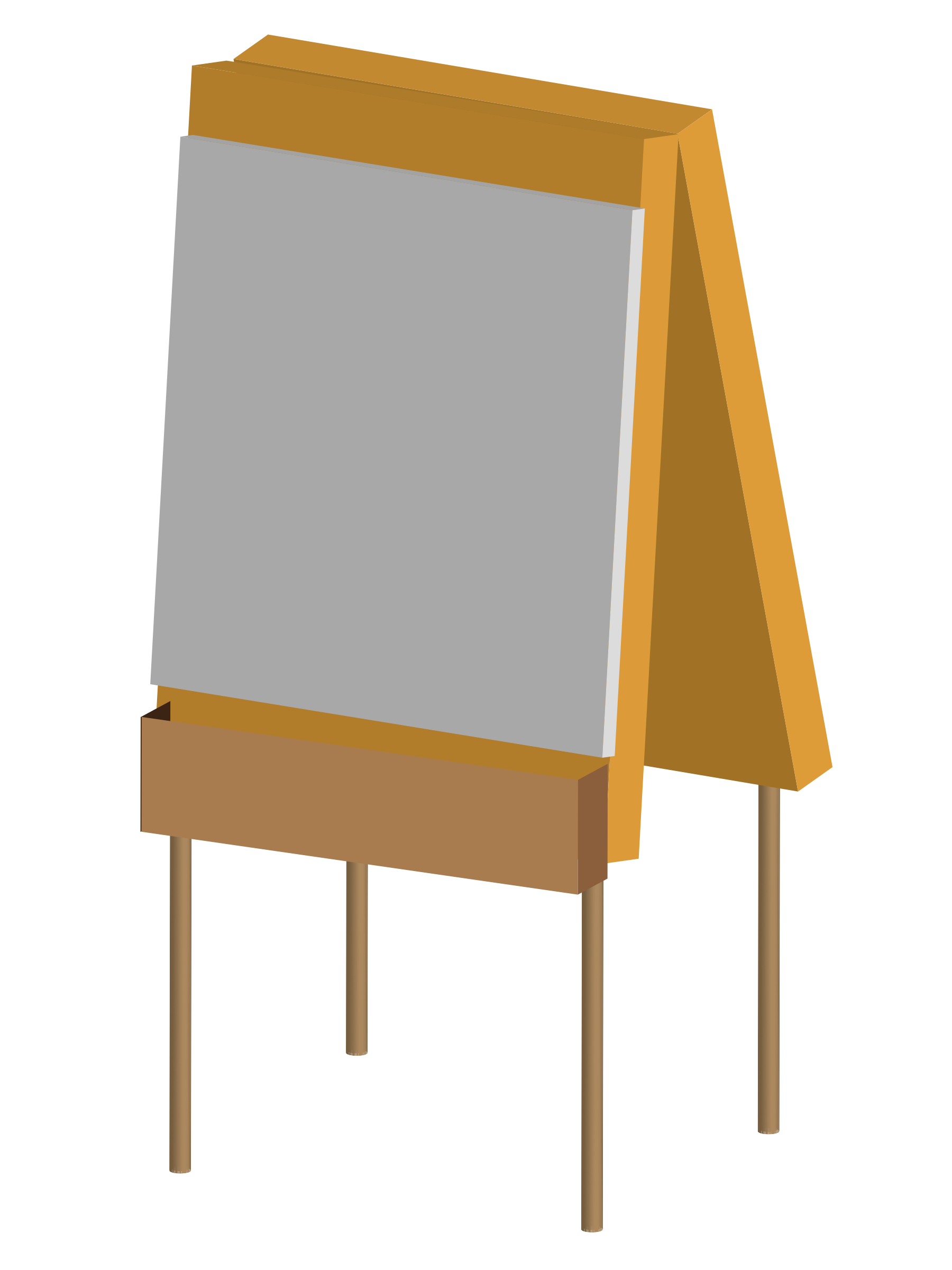 Easel clipart vector. An icons png free