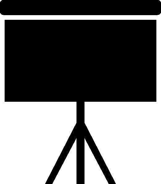 Easel icon clip art. Statistics clipart data presentation