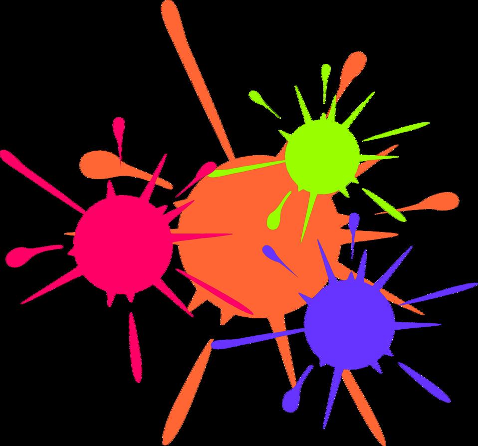 Paintball paint wallpaper