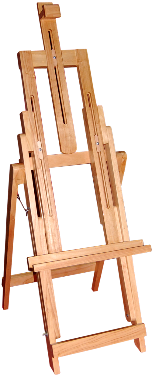 Index of images products. Painter clipart easel board