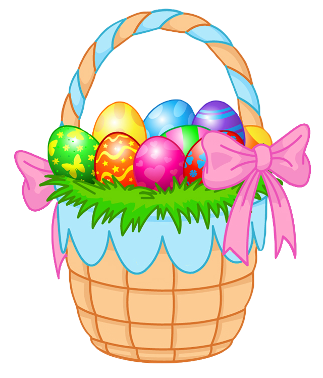 Gift clipart full basket. Transparent easter png picture