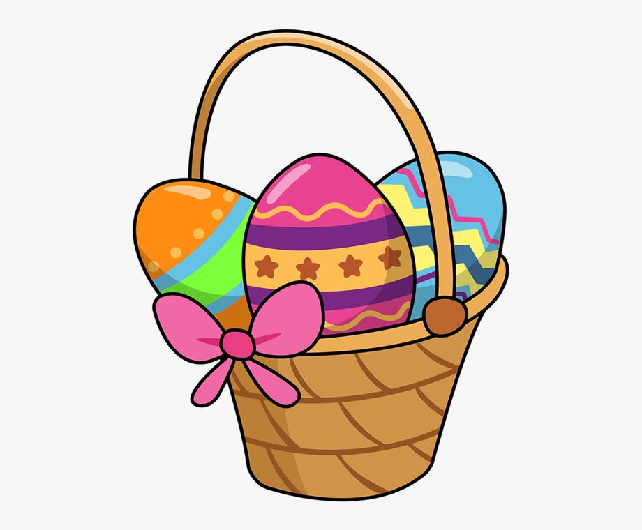 Clip art cute cartoon. Easter clipart easter basket