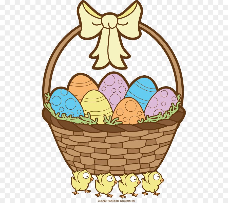 Egg background food . Easter clipart easter basket