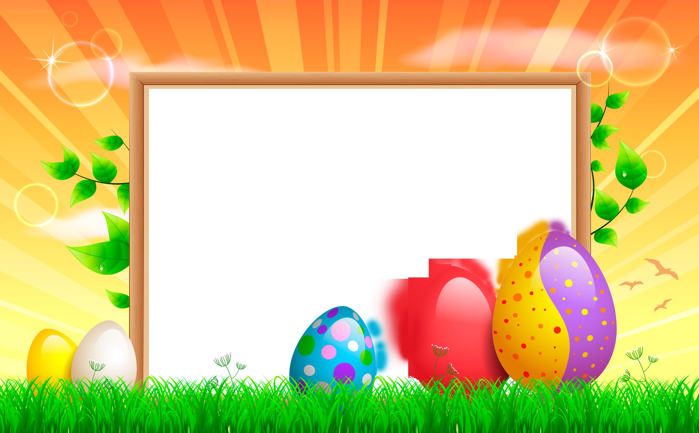 Transparent gallery yopriceville high. Easter frame png