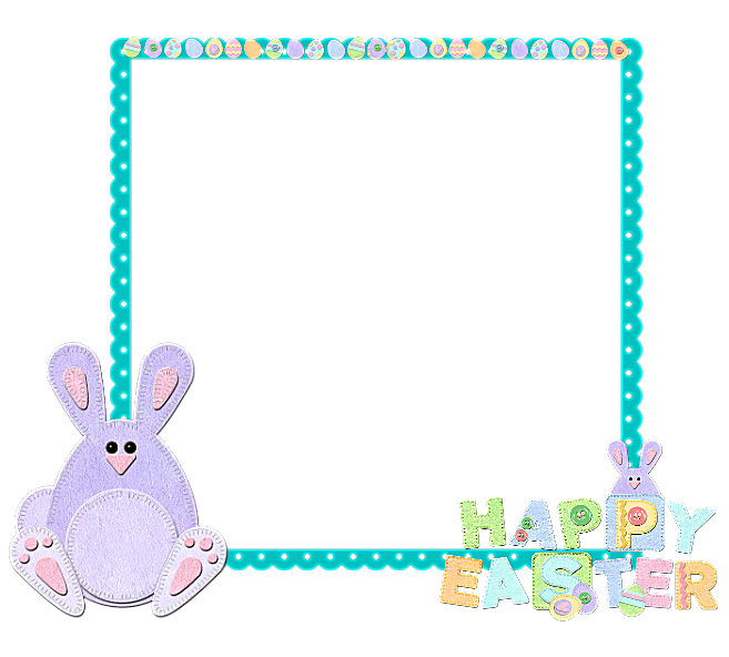 Easter frame png. Gallery yopriceville high quality