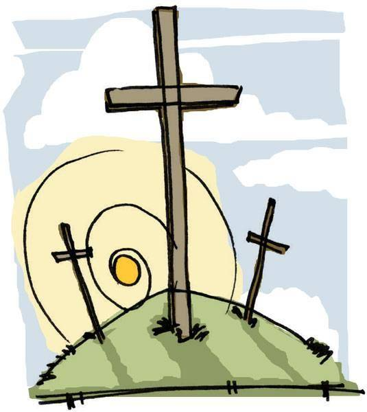 Services free image . Easter clipart holy week
