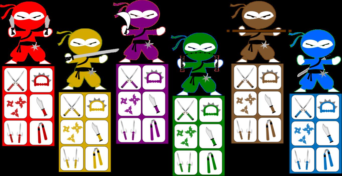 Ninja clipart kid ninja. Kids party scavenger hunt