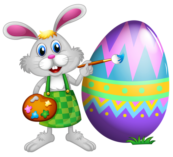 Pawprint clipart easter bunny. And colored egg png