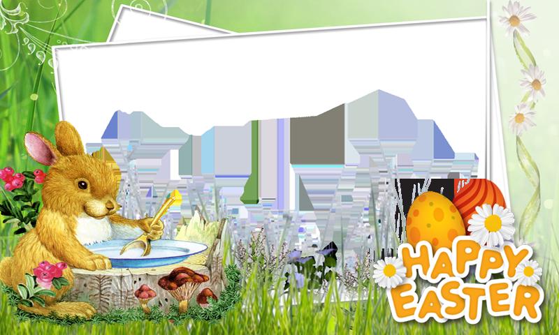 Easter frame png.  frames for free
