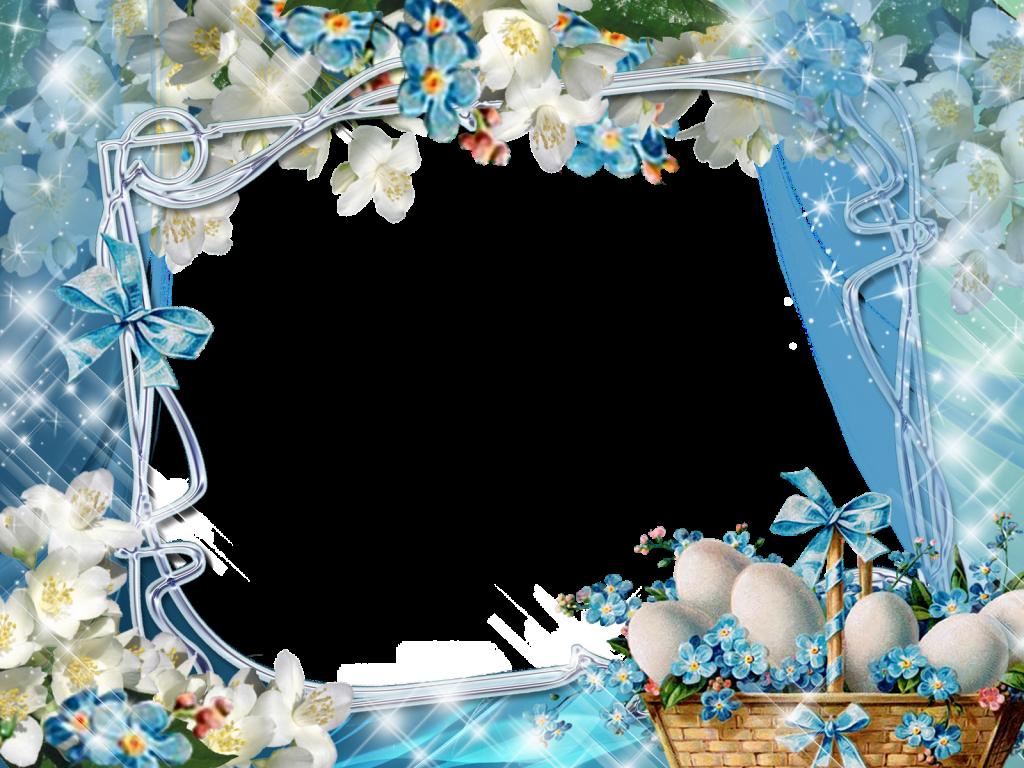 Frames for photoshop image. Easter frame png