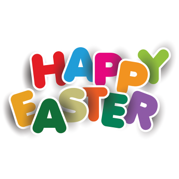 Happy vectors and psd. Easter png images