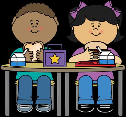 Kids eating kindergarten pinterest. Lunch clipart