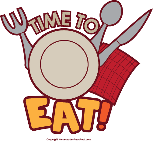 Time to . Eat clipart