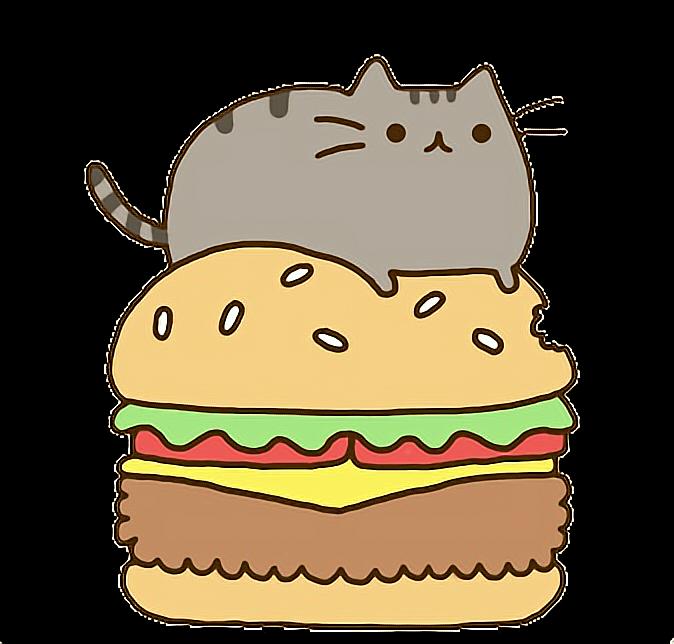 eating clipart hamburger