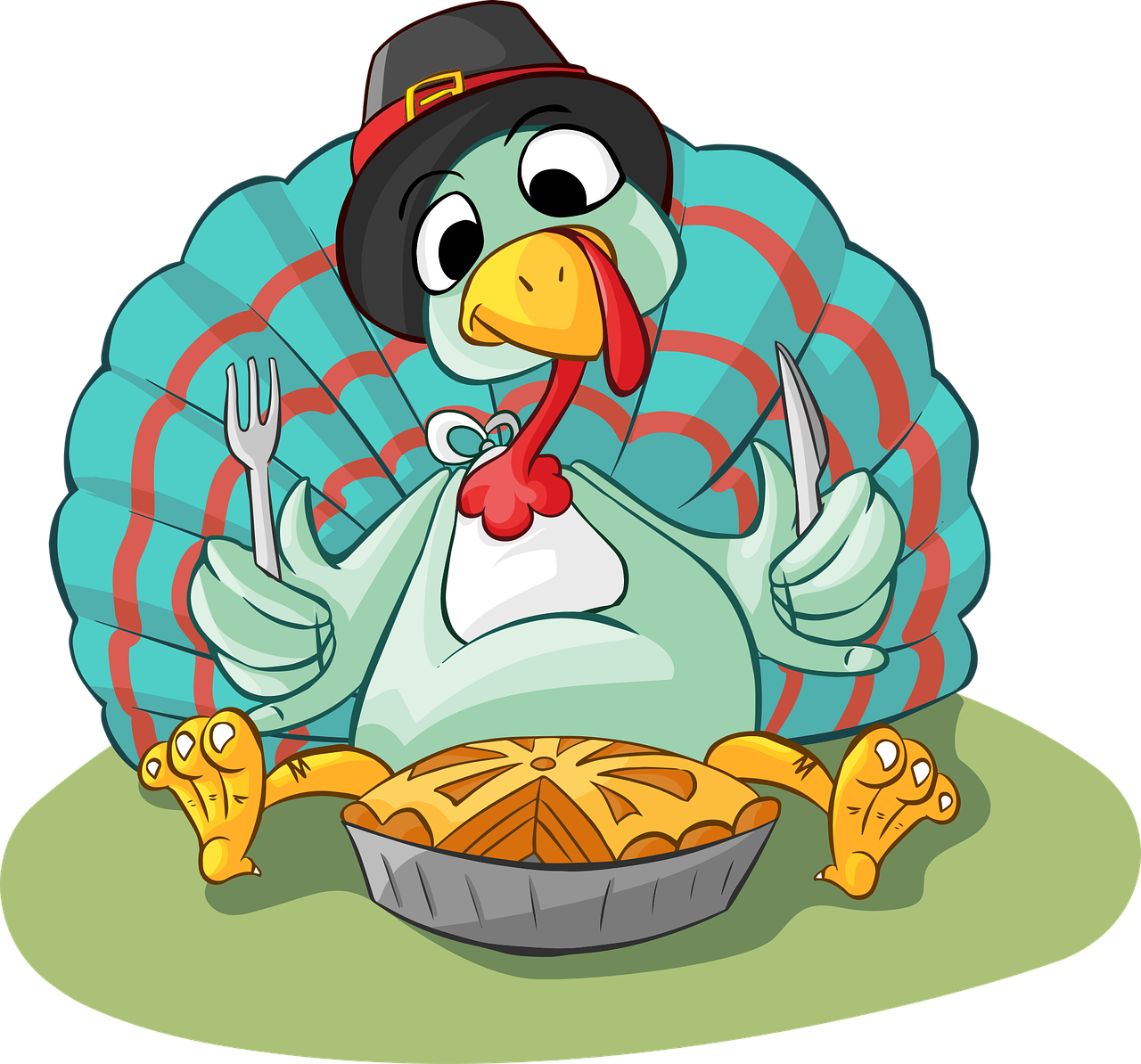 Hungry clipart big dinner.  tips to survive