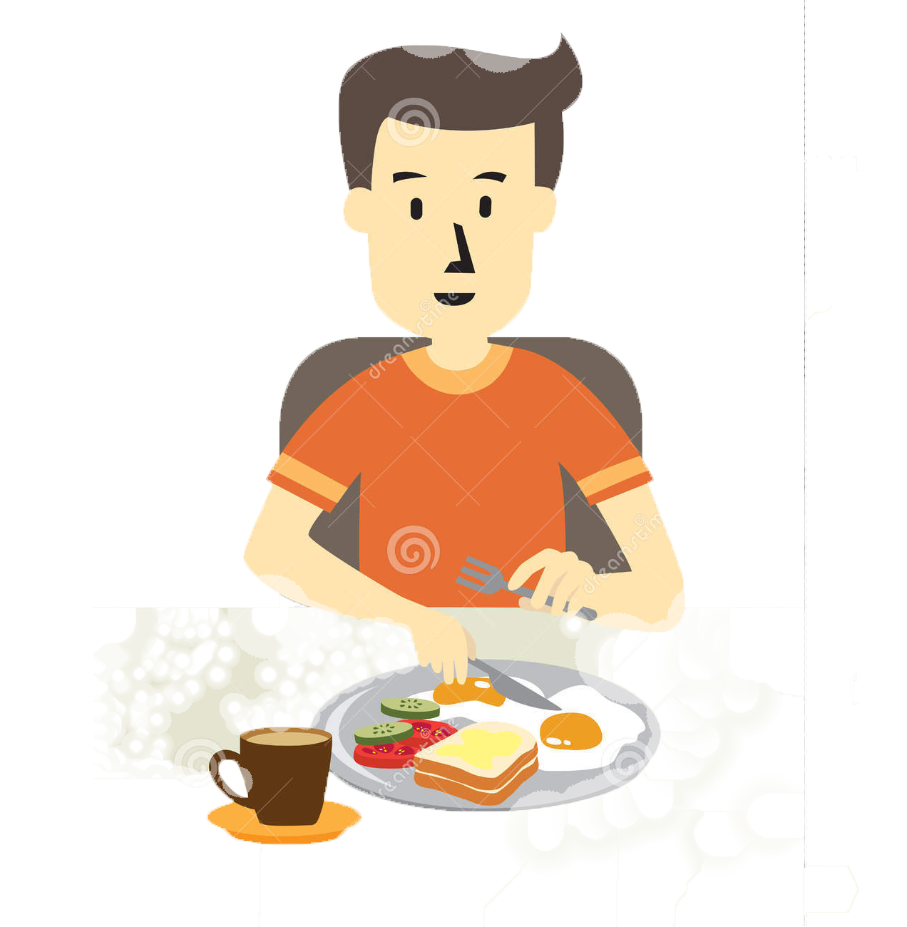 Healthy Clipart Heathy - Eat Healthy Food Clipart - Png Download (#5669202)  - PinClipart