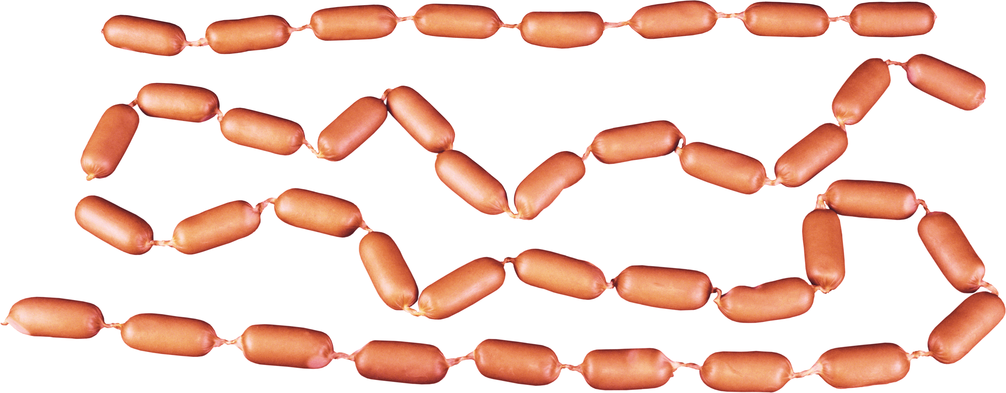 Fat clipart unhealthy snack. Sausage six isolated stock