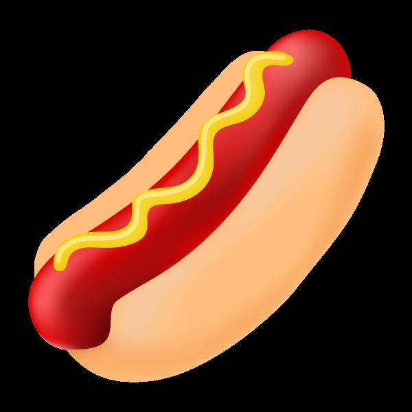 Hotdog clipart simple food. Hot dog concession sign