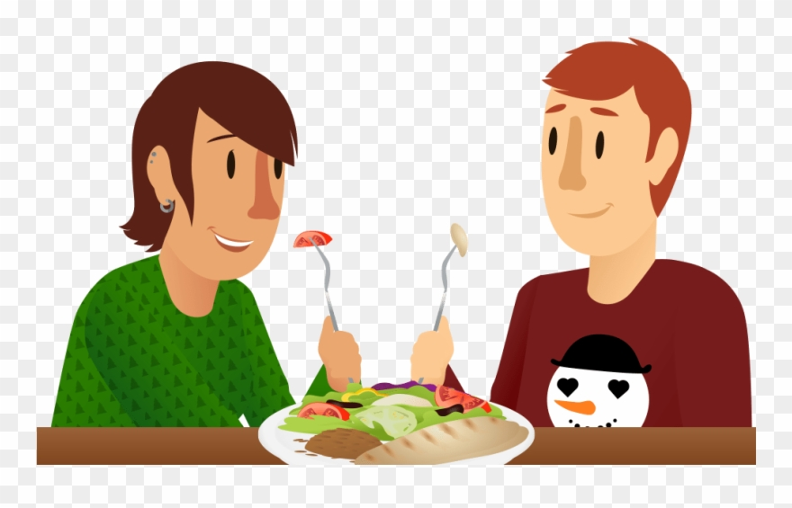 Eat food sharing png. Hungry clipart eating