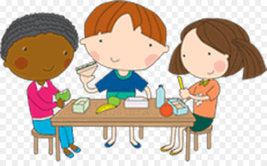 Eating cartoon school breakfast. Lunchbox clipart toddler lunch