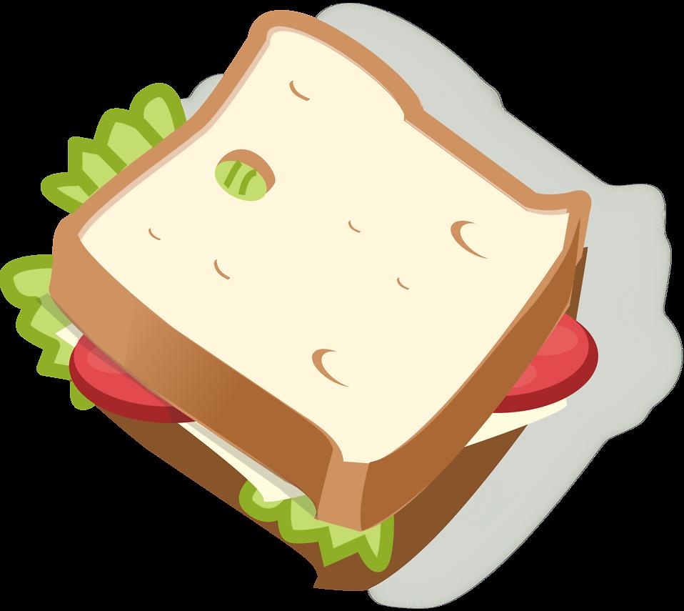 Sandwich free stock photo. Ham clipart sandwhich