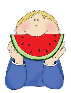Watermelon clipart watermelon eating contest. Cliparts eat zone