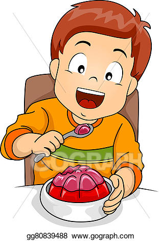 eating clipart boy eating