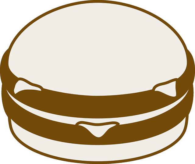 Silhouette at getdrawings com. Hamburger clipart svg
