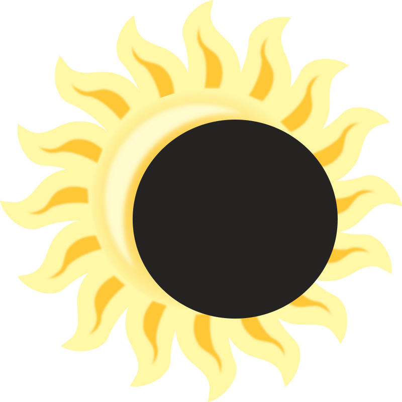 Eclipse clipart. Solar drawing at getdrawings