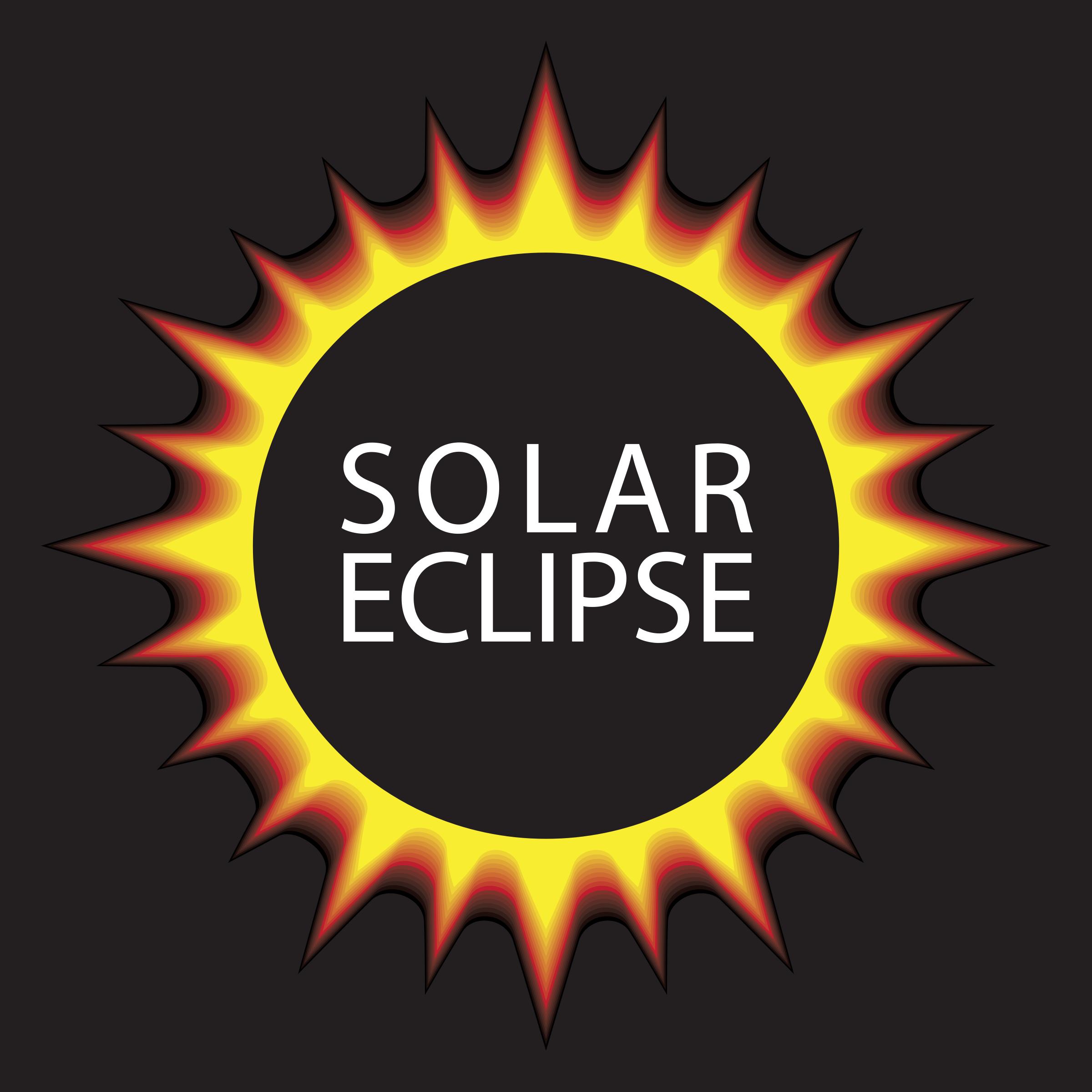 Eclipse clipart. Solar complete big image