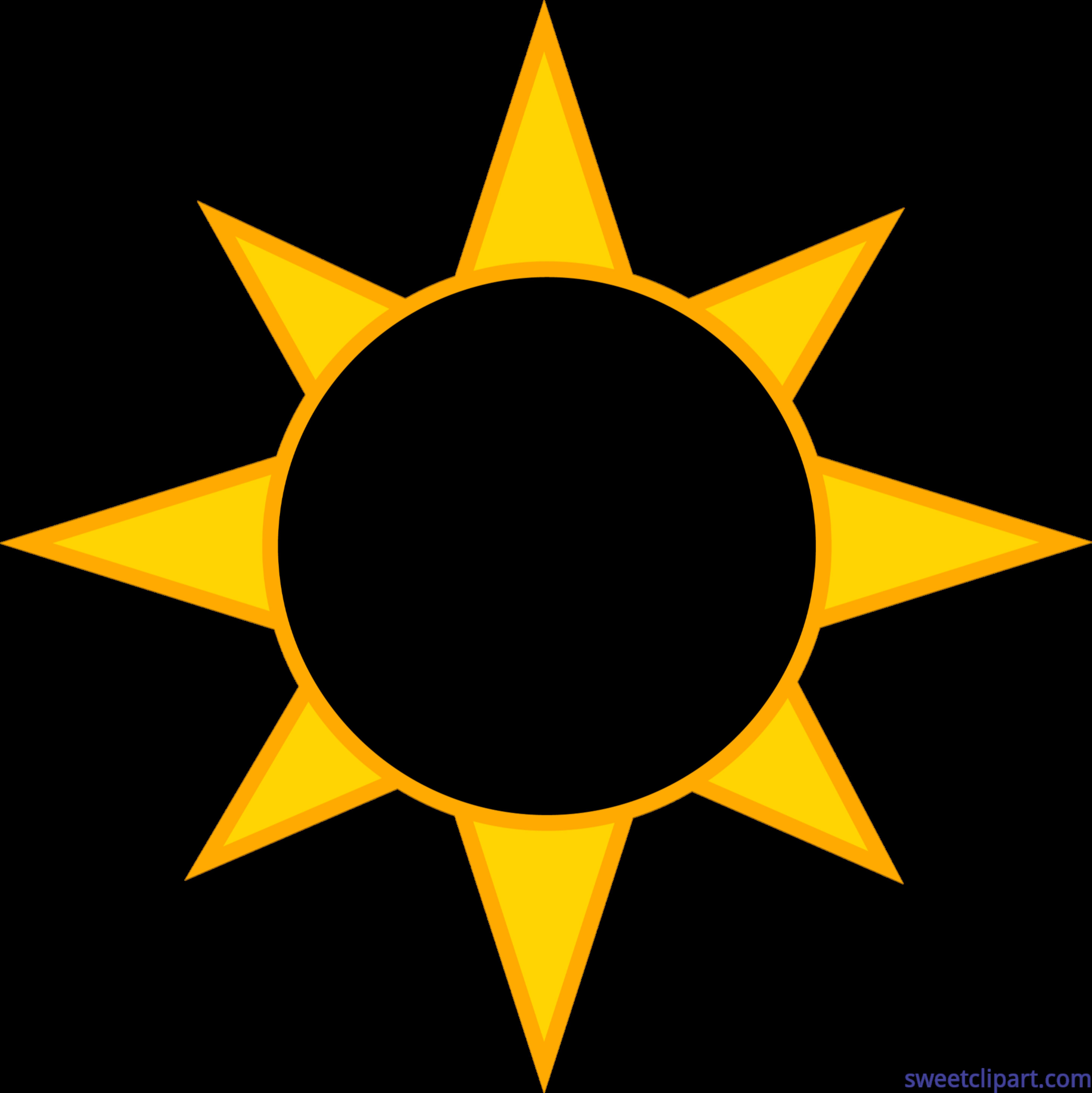 Solar sun clip art. Eclipse clipart