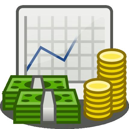 Free . Cash clipart economics