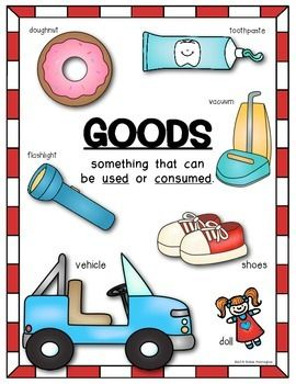 Economics clipart consumer education. Poster pack social studies