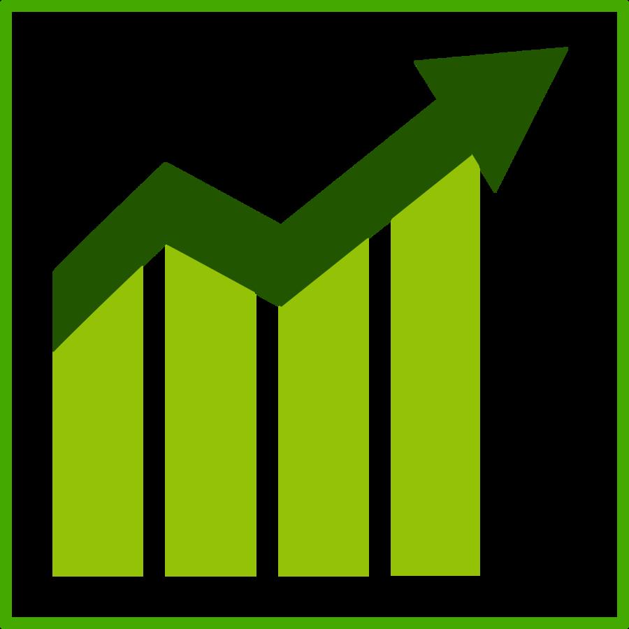 Economics clipart economic issue. Green grass background economy